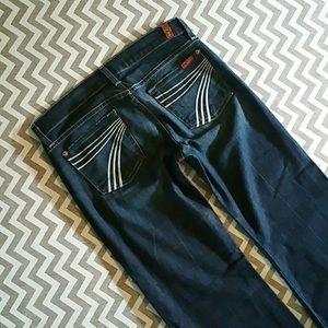 7FAMK Dojo Flare Jeans festival wear size 26